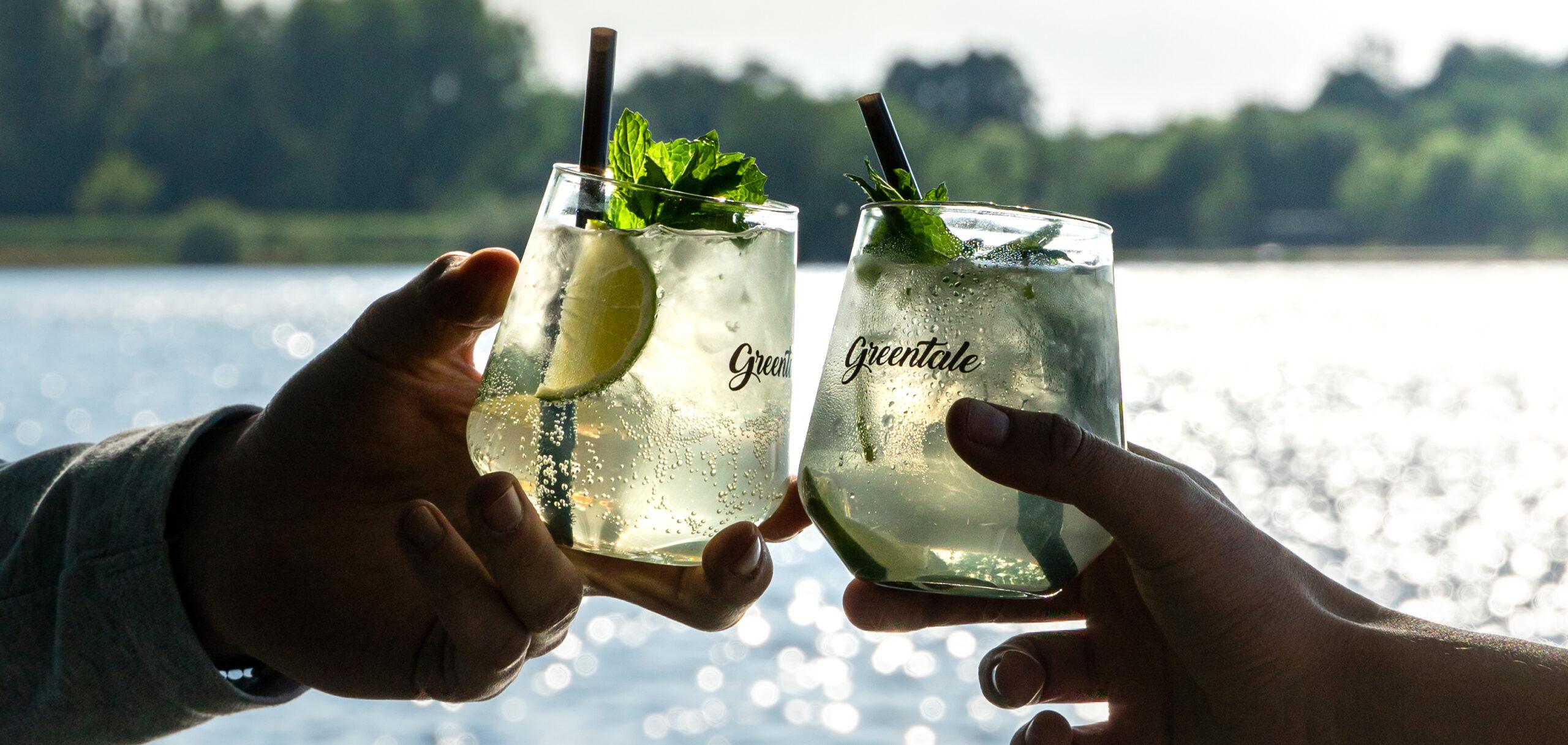 Greentail Mojito in a glass